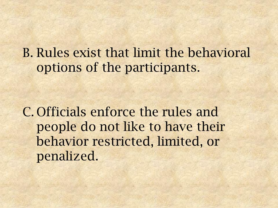 3.Officials may have to use both passive and assertive modes of game management.
