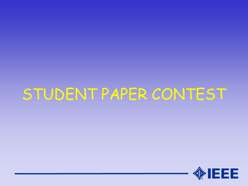 STUDENT PAPER CONTEST