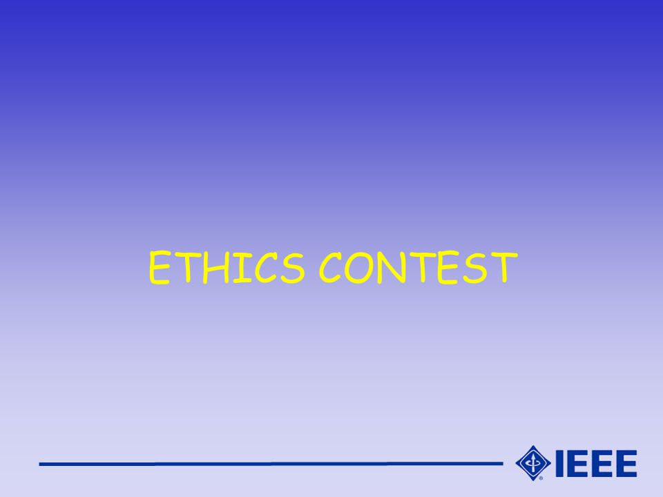 ETHICS CONTEST