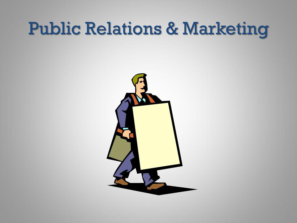 Public Relations & Marketing