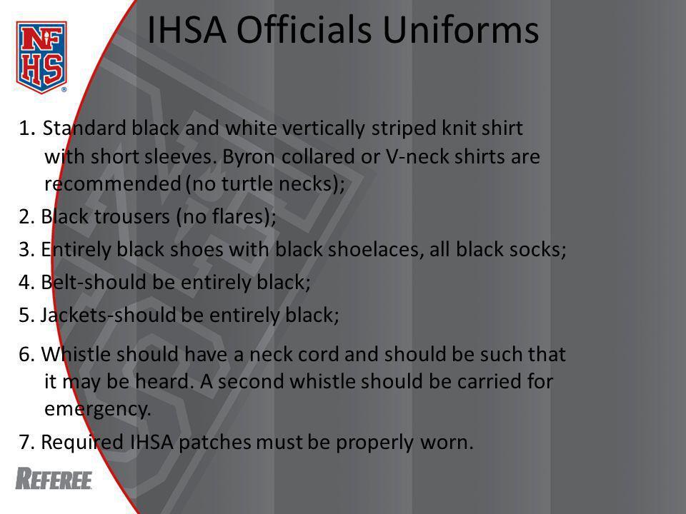 IHSA Officials Uniforms 1.