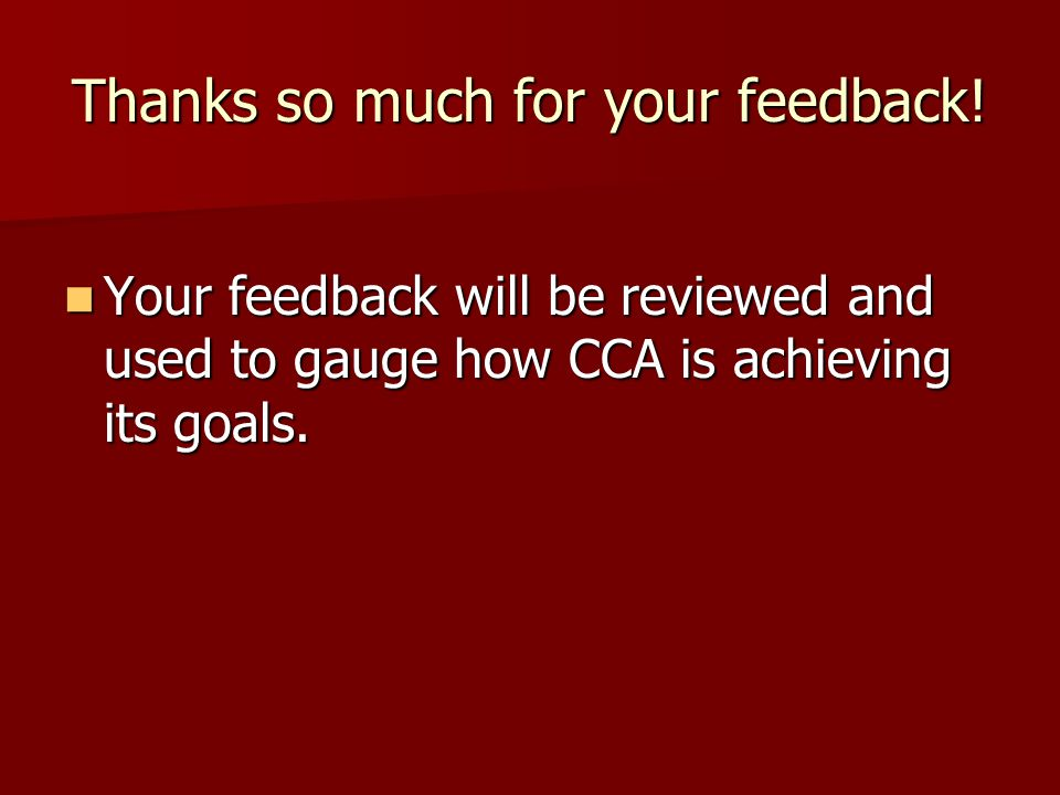 Thanks so much for your feedback.