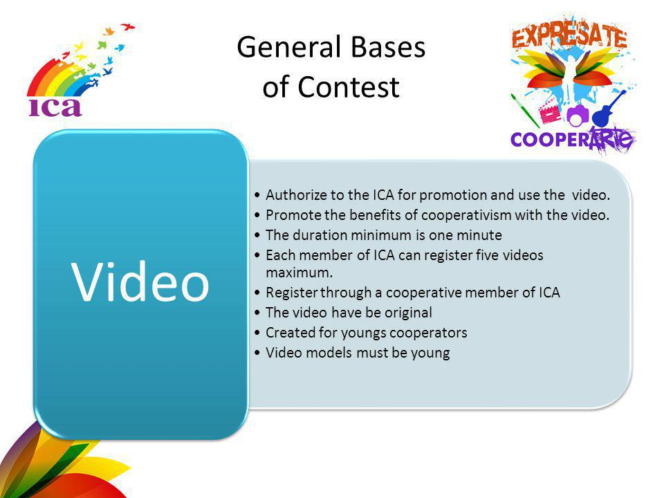 Authorize to the ICA for promotion and use the video.
