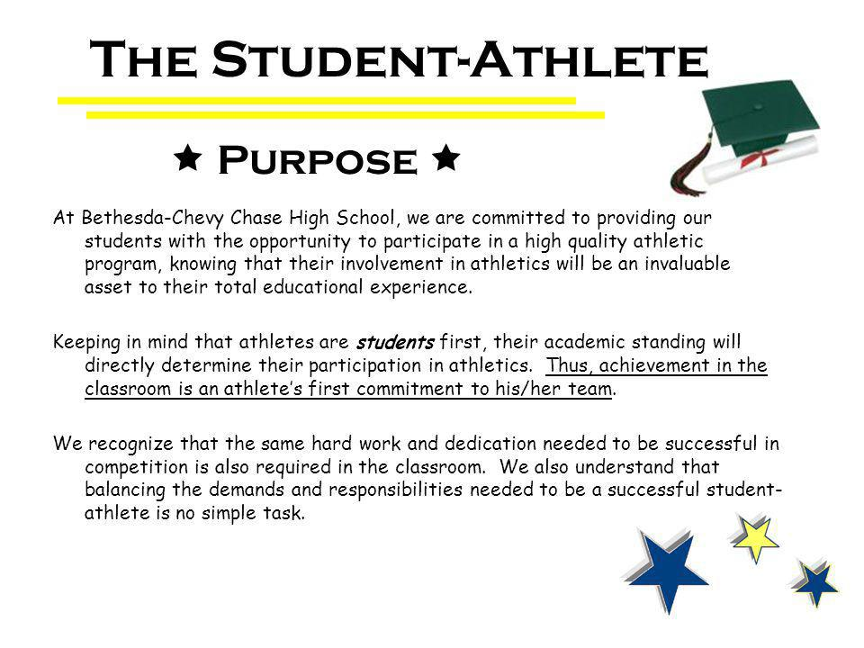 At Bethesda-Chevy Chase High School, we are committed to providing our students with the opportunity to participate in a high quality athletic program, knowing that their involvement in athletics will be an invaluable asset to their total educational experience.