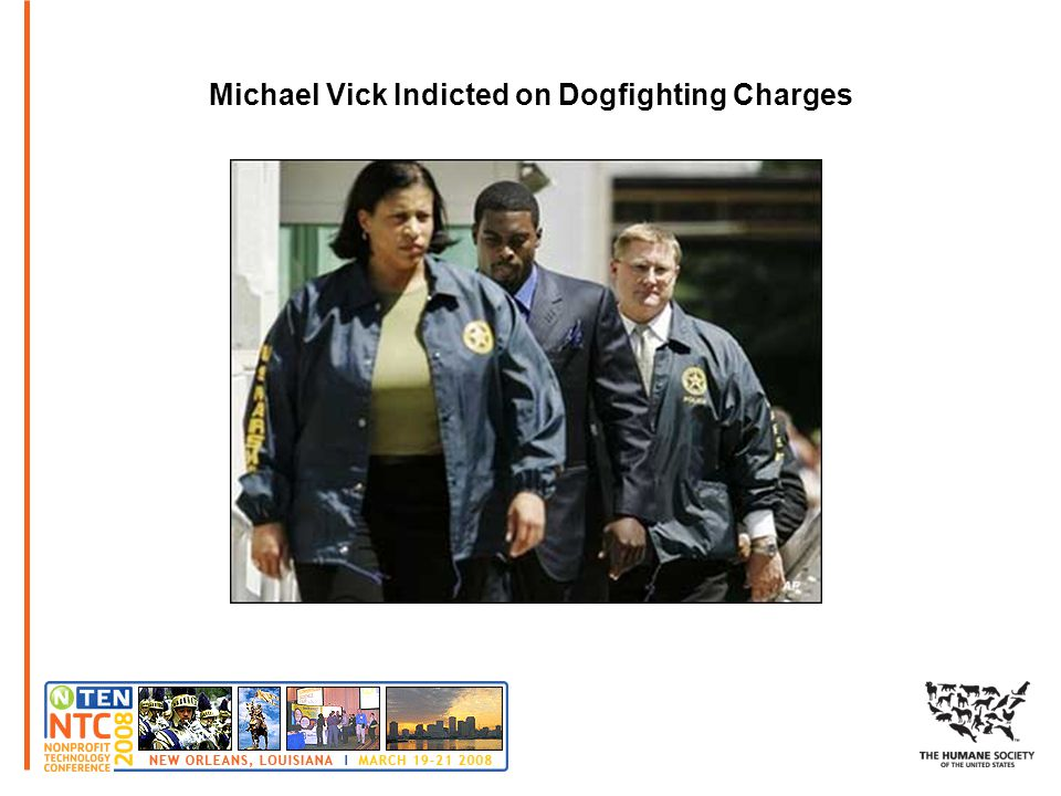 Michael Vick Indicted on Dogfighting Charges