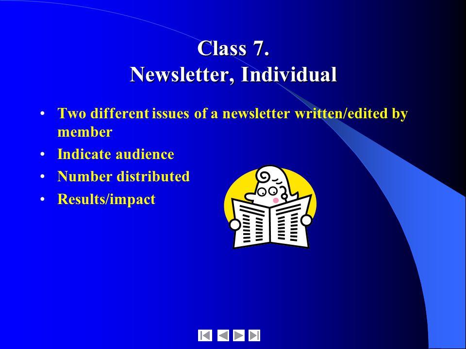 Class 7.