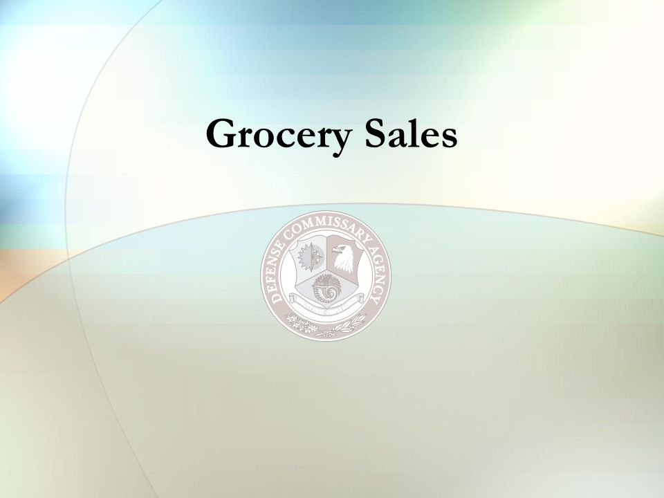 DeCA West Grocery Sales OCONUS total includes Zones 12 and 13 FY07 YTDDifference% Change CONUS$804,118,674+ $1,496,796+ 0.19% OCONUS$407,172,340+ $463,307+ 0.11% TOTAL$1,211,291,014+ $1,960,103+ 0.16% Sales through April 07