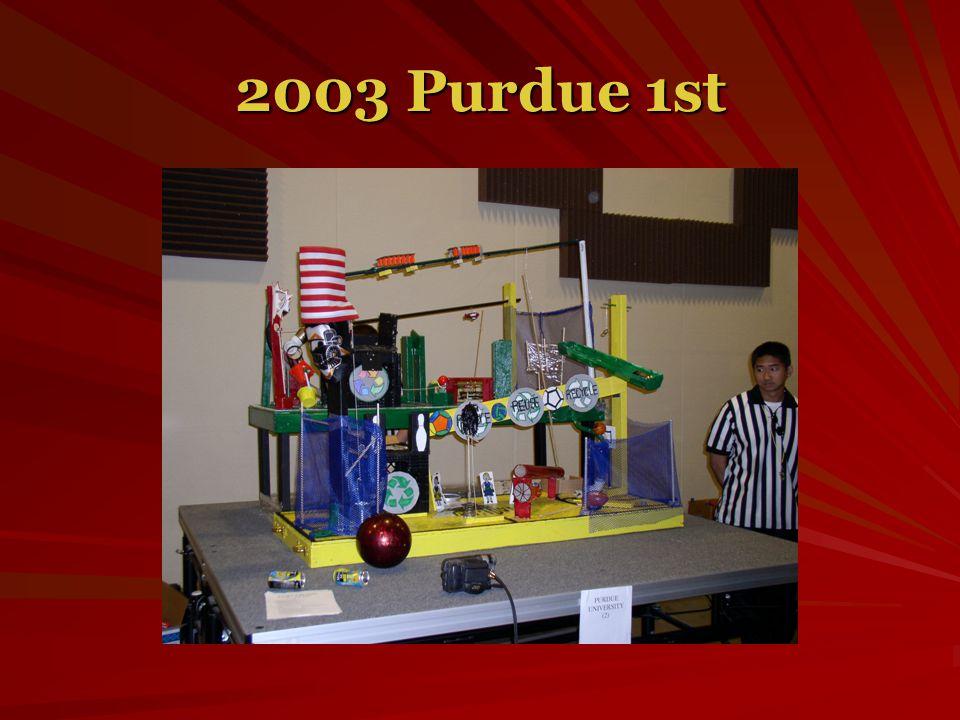 2003 Purdue 1st