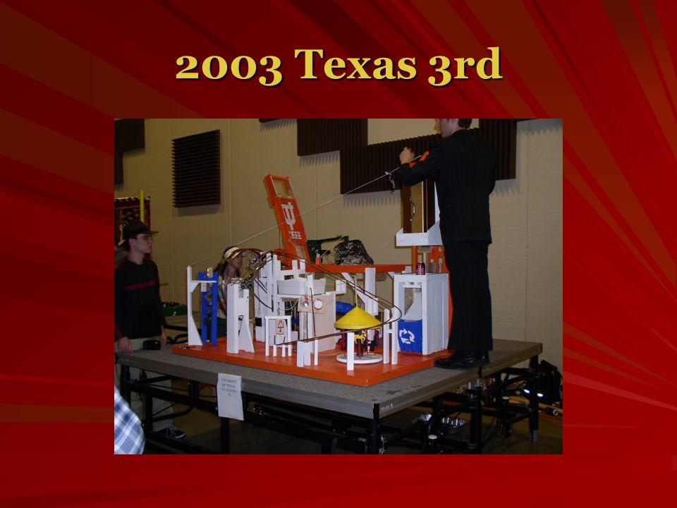 2003 Texas 3rd