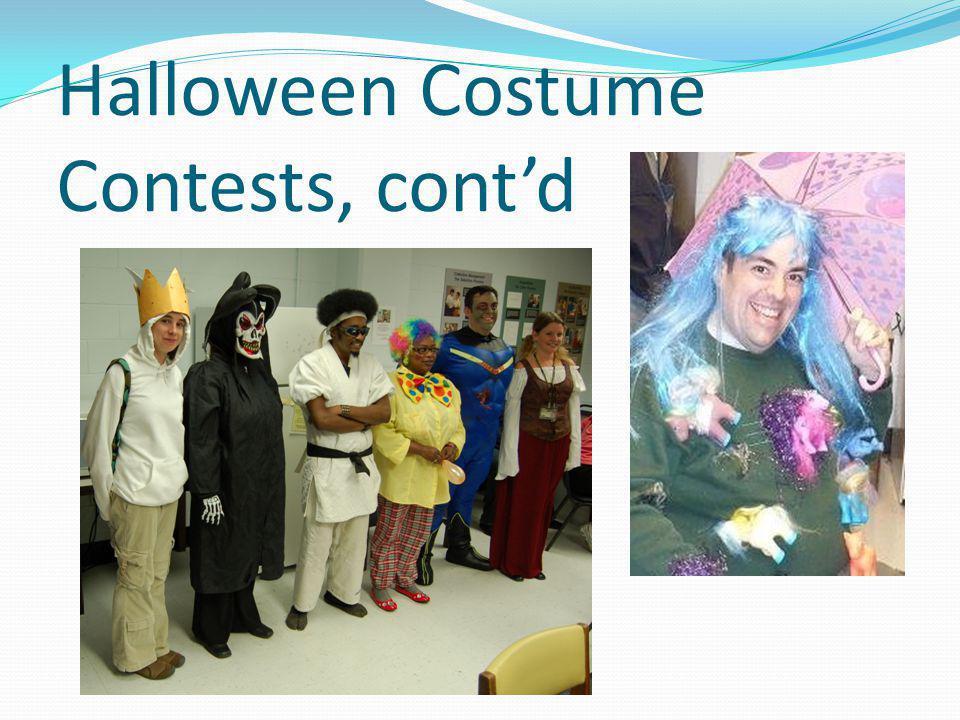 Halloween Costume Contests, contd