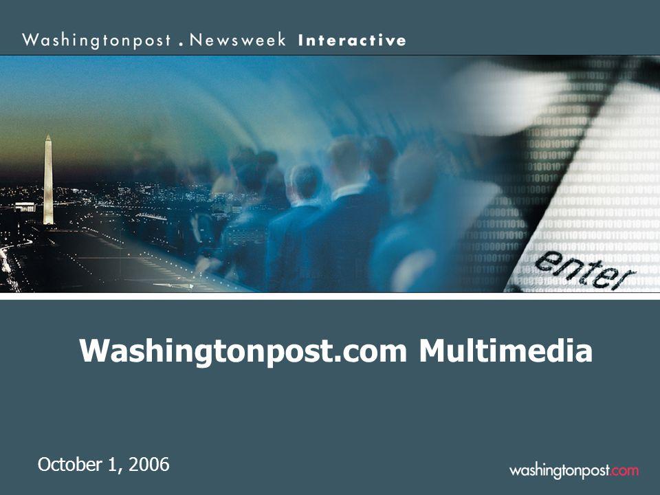 Washingtonpost.com Multimedia October 1, 2006
