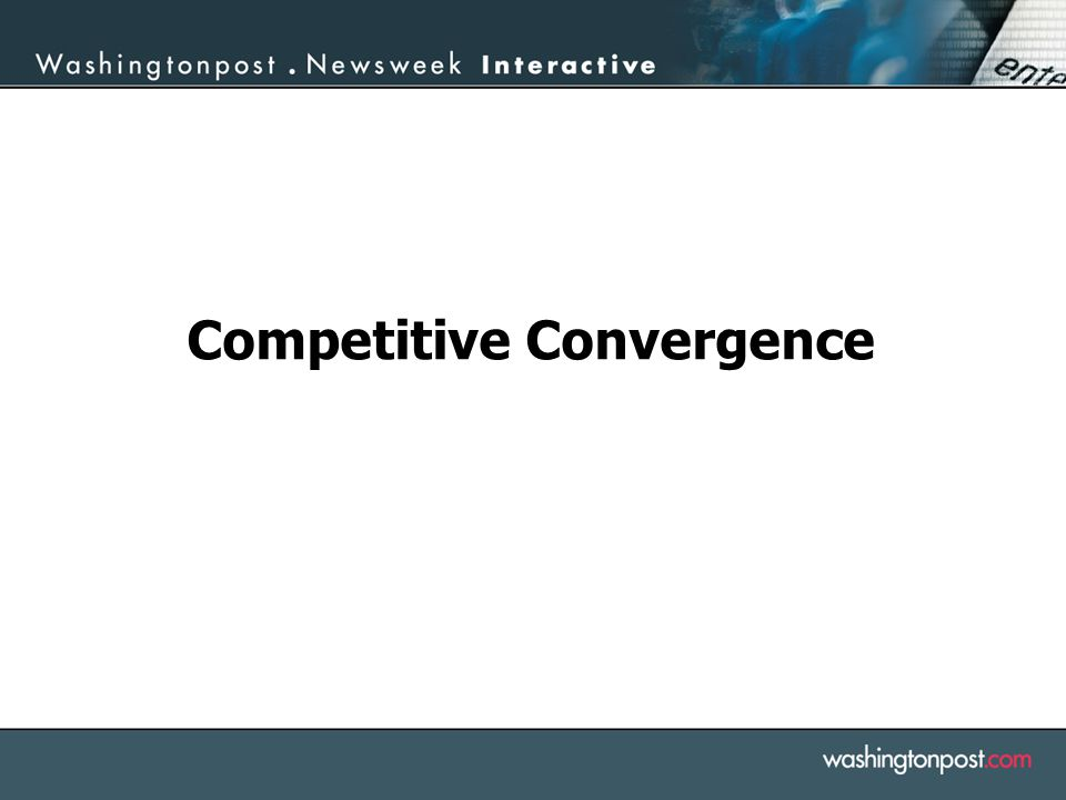 Competitive Convergence