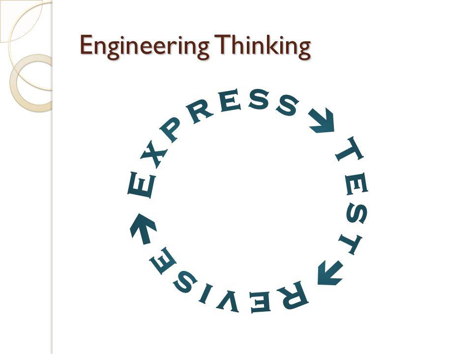 Engineering Thinking