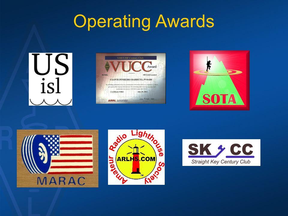 Operating Awards