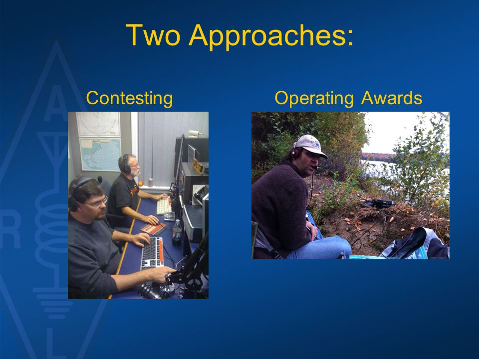 Two Approaches: Contesting Operating Awards