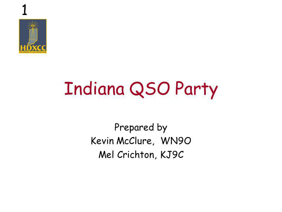 2 What is a QSO Party.
