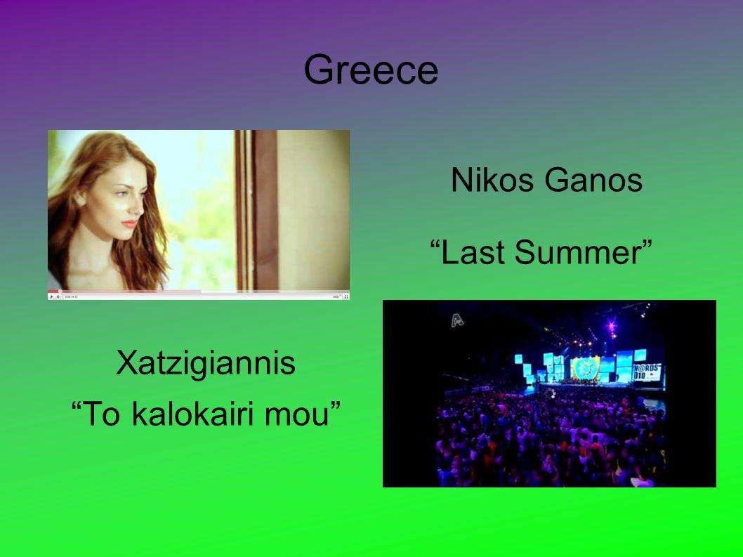 Greece Xatzigiannis To kalokairi mou Last Summer NICKONICKO - Last Summer - Nikos Ganos Nikos Ganos