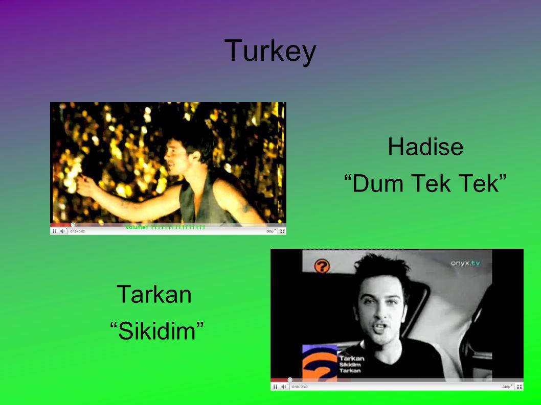 Turkey Hadise Dum Tek Tek Tarkan Sikidim NICKONICKO - Last Summer - Nikos Ganos