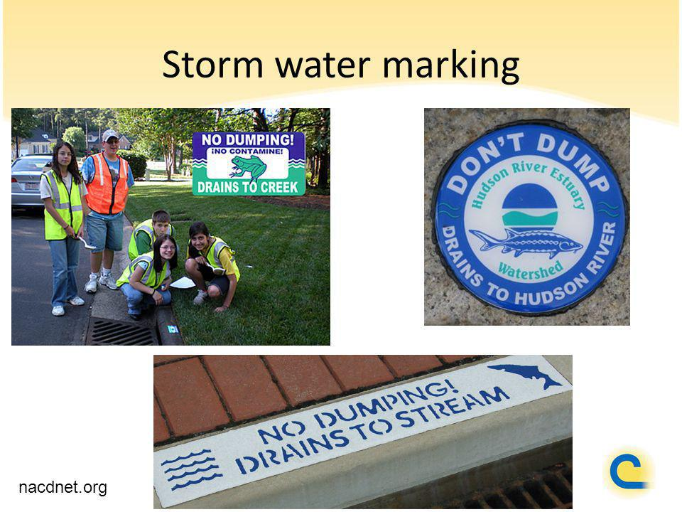 Storm water marking nacdnet.org
