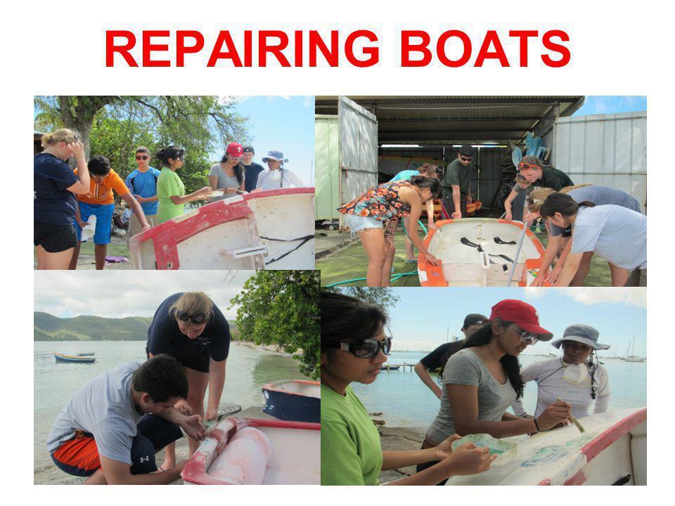 REPAIRING BOATS
