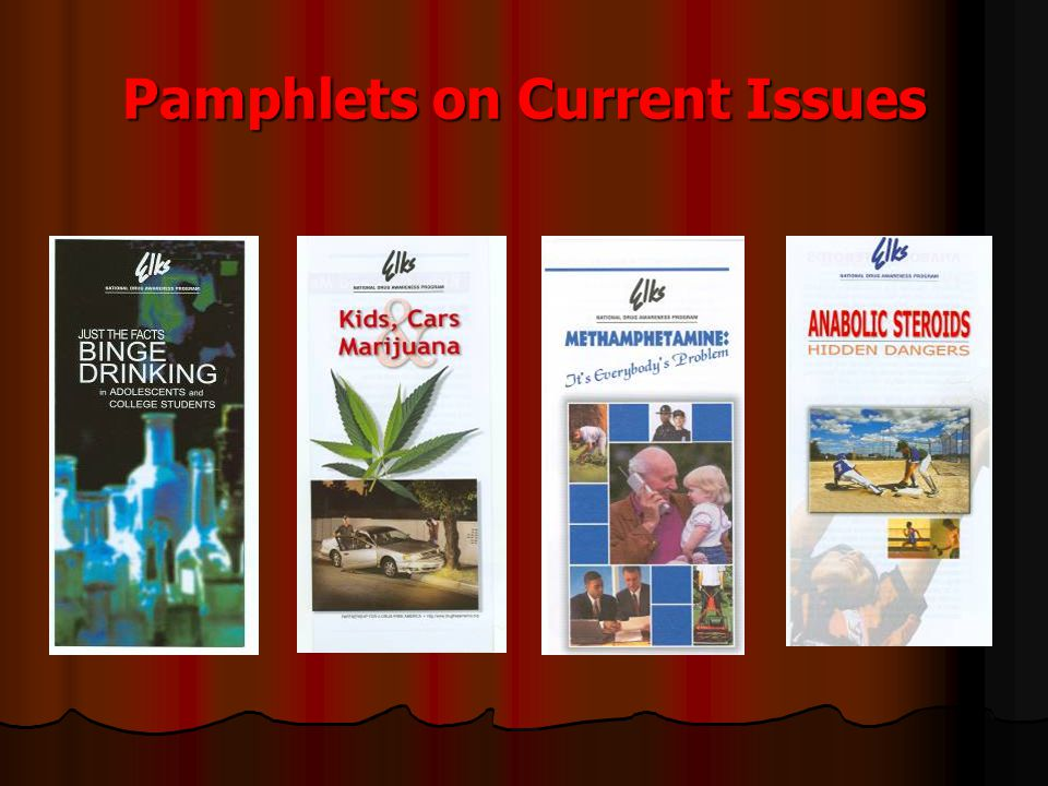 Pamphlets on Current Issues