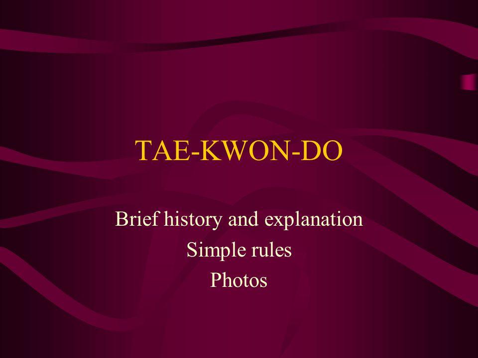 Taekwondo clothes