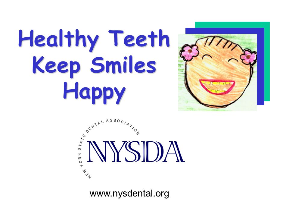 Healthy Teeth Keep Smiles Happy
