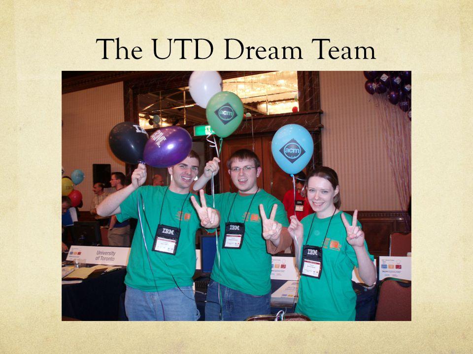 The UTD Dream Team
