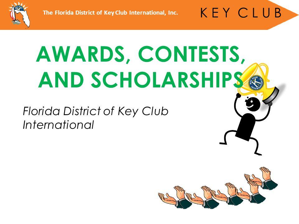Florida Opportunity Fund Scholarship (FLOF) DCON Program Ad Scholarship*** Governors Project Scholarship Florida District Matching Scholarship G.