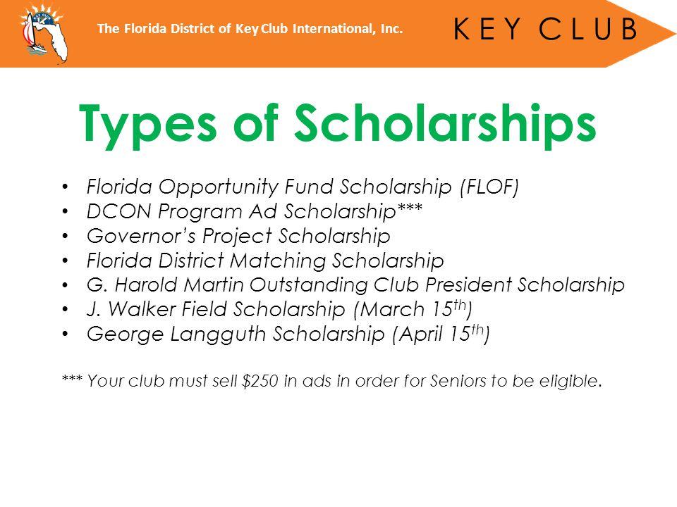 The Florida District of Key Club International, Inc.