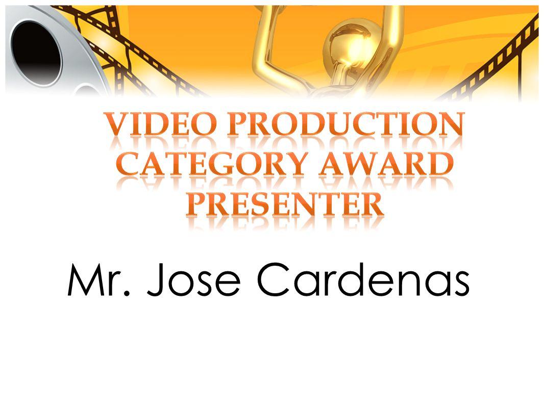 Mr. Jose Cardenas