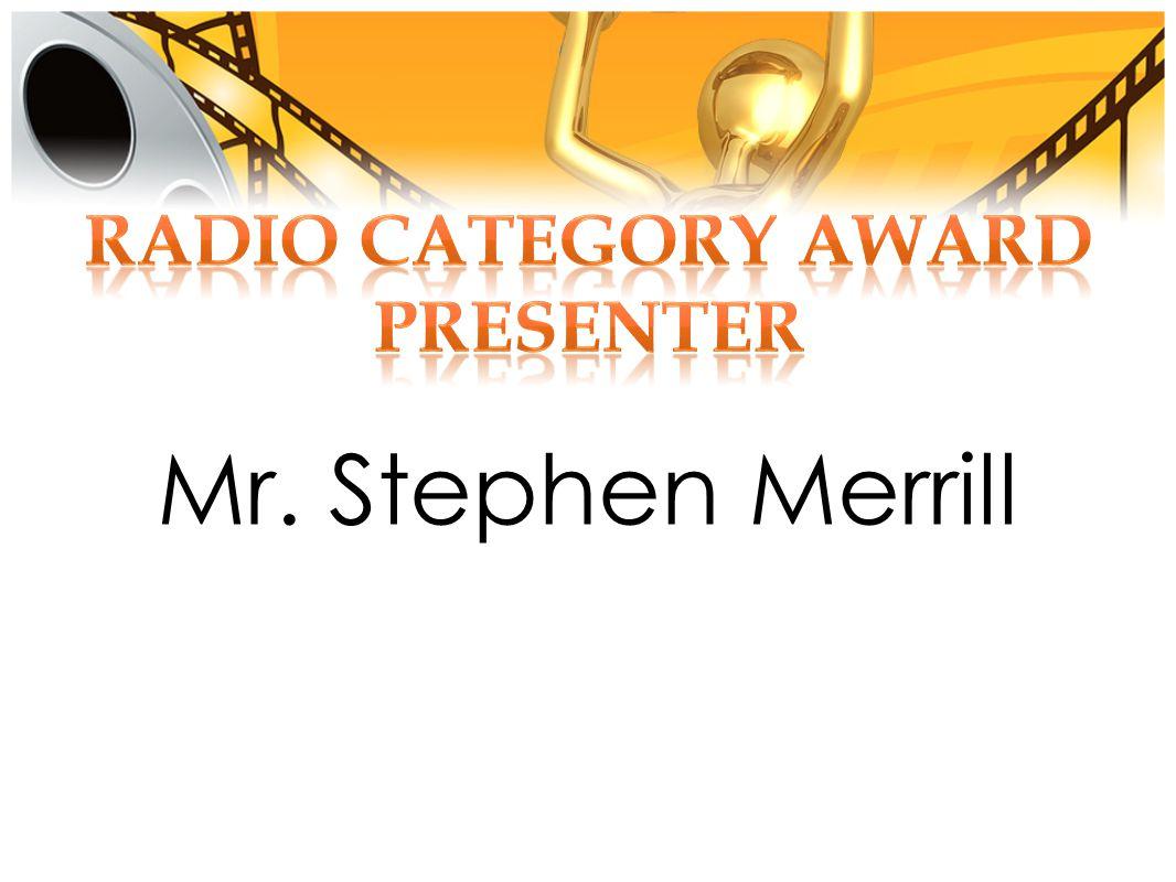 Mr. Stephen Merrill