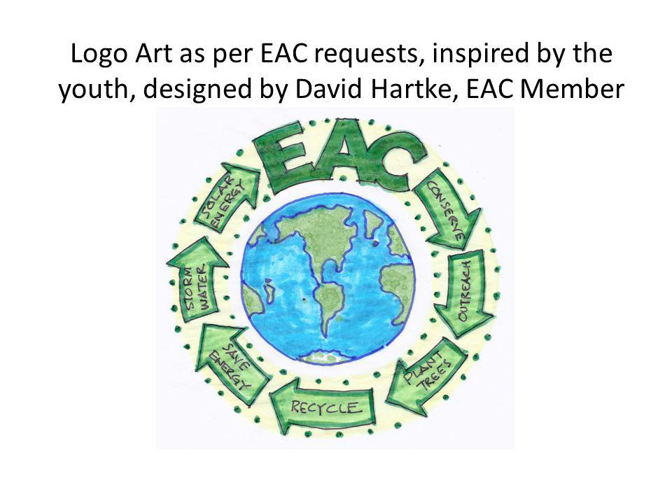 Logo Art as per EAC requests, inspired by the youth, designed by David Hartke, EAC Member
