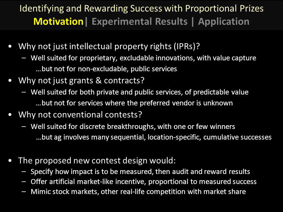 Why not just intellectual property rights (IPRs).