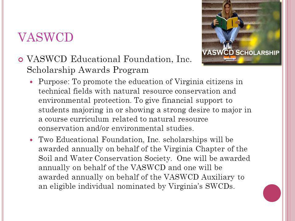 VASWCD VASWCD Educational Foundation, Inc.