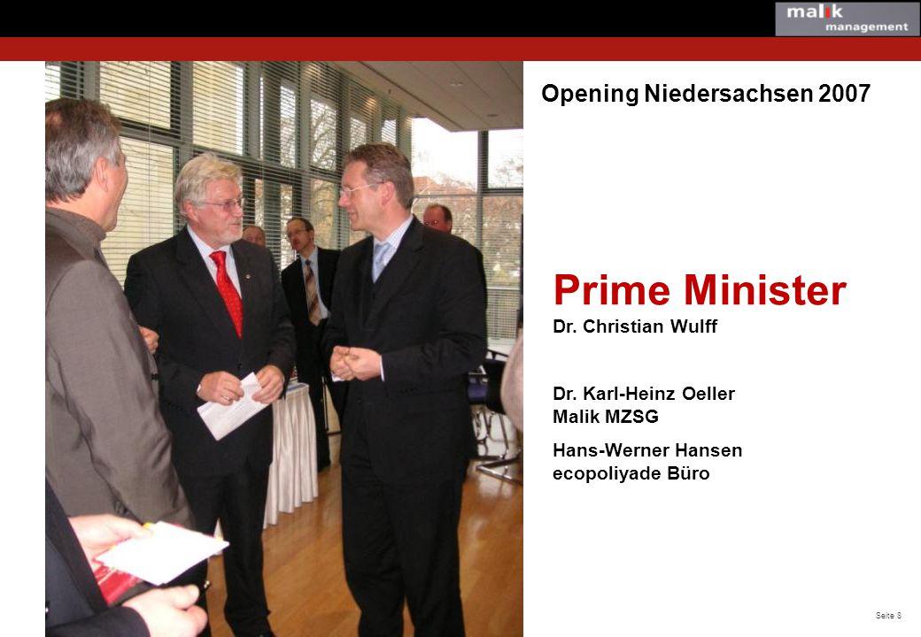 Seite 9 © Malik Management ecopolicyade® Finals in the German Parliament, Berlin