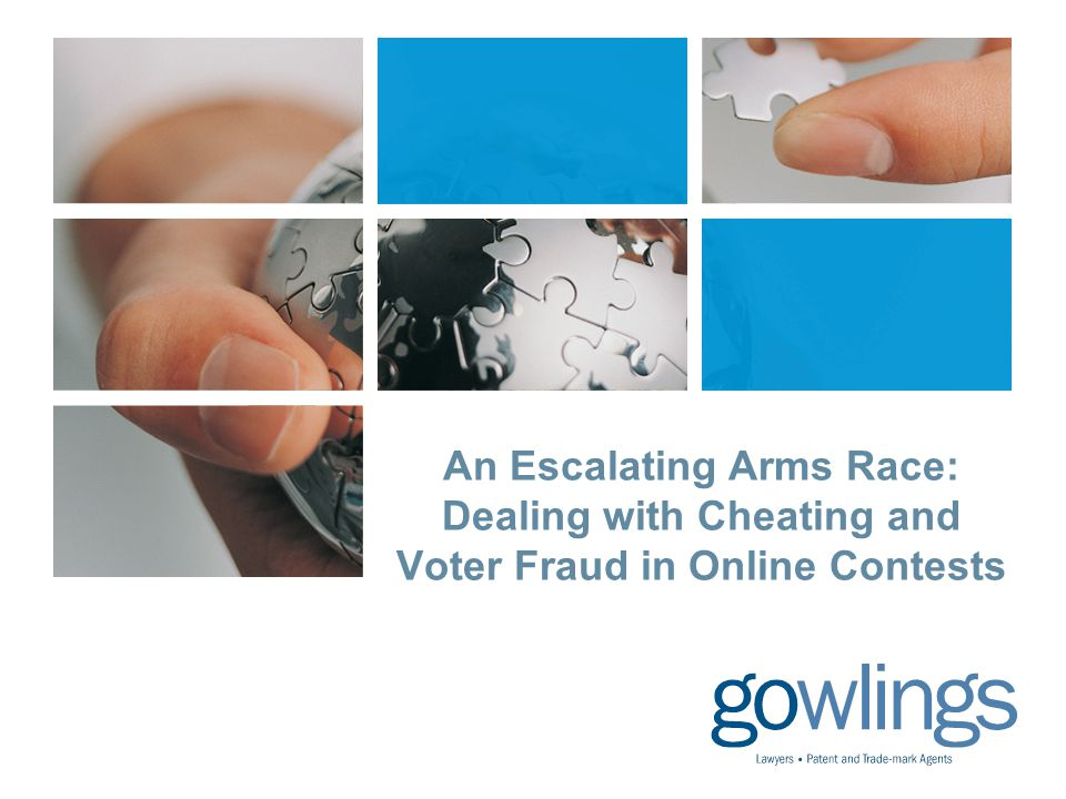An Escalating Arms Race: Dealing with Cheating and Voter Fraud in Online Contests