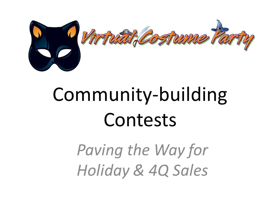 Community-building Contests Paving the Way for Holiday & 4Q Sales
