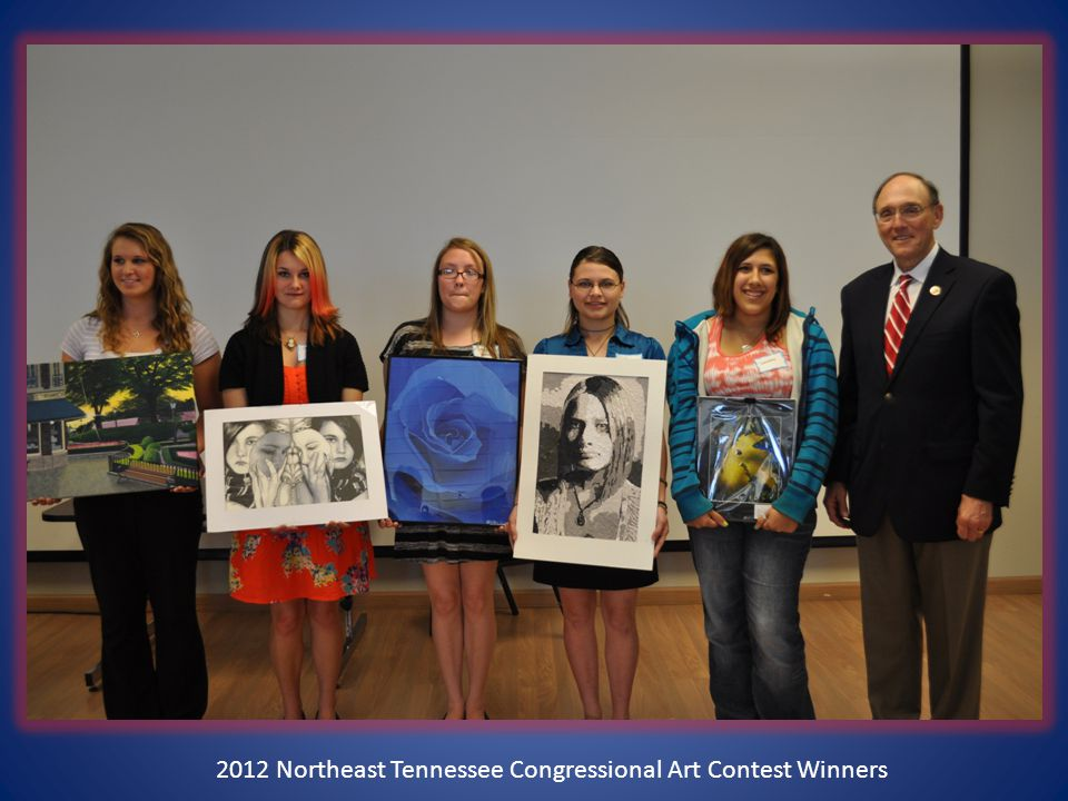 2012 Northeast Tennessee Congressional Art Contest Winners