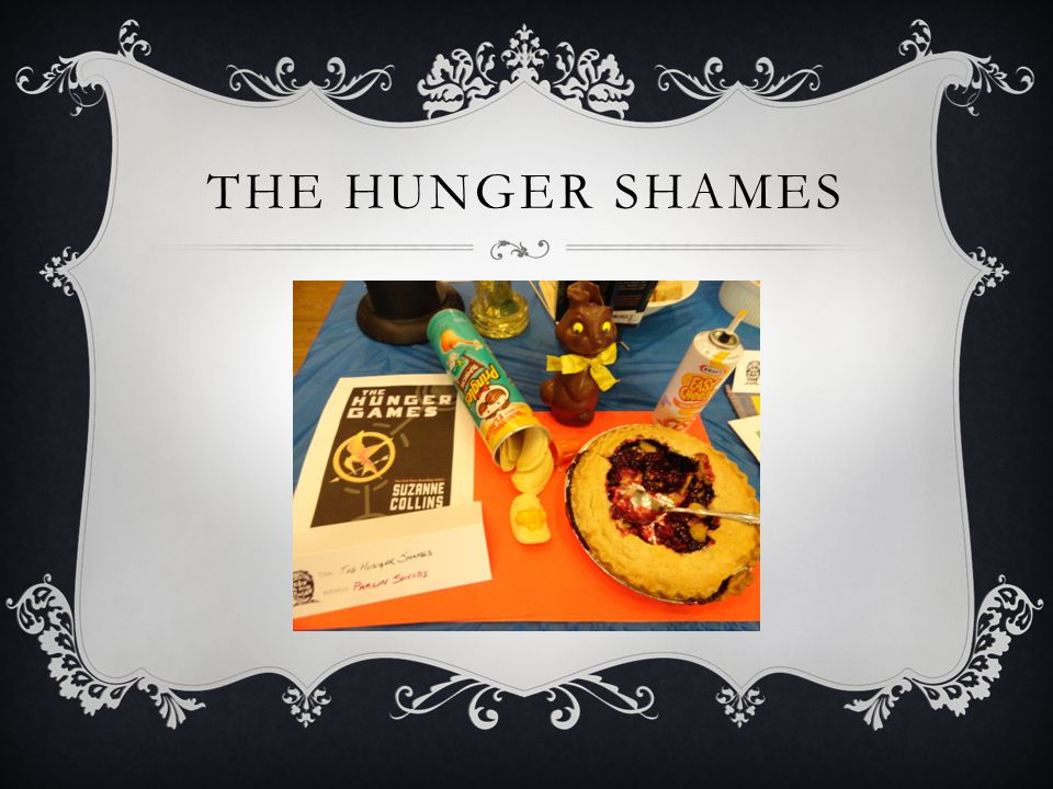 THE HUNGER SHAMES