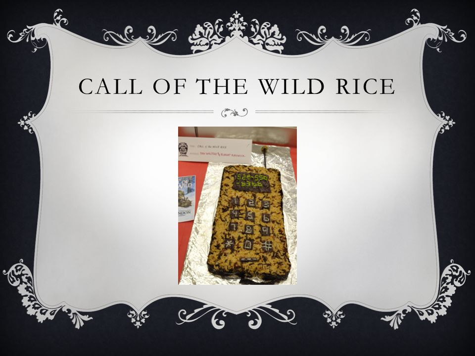 CALL OF THE WILD RICE