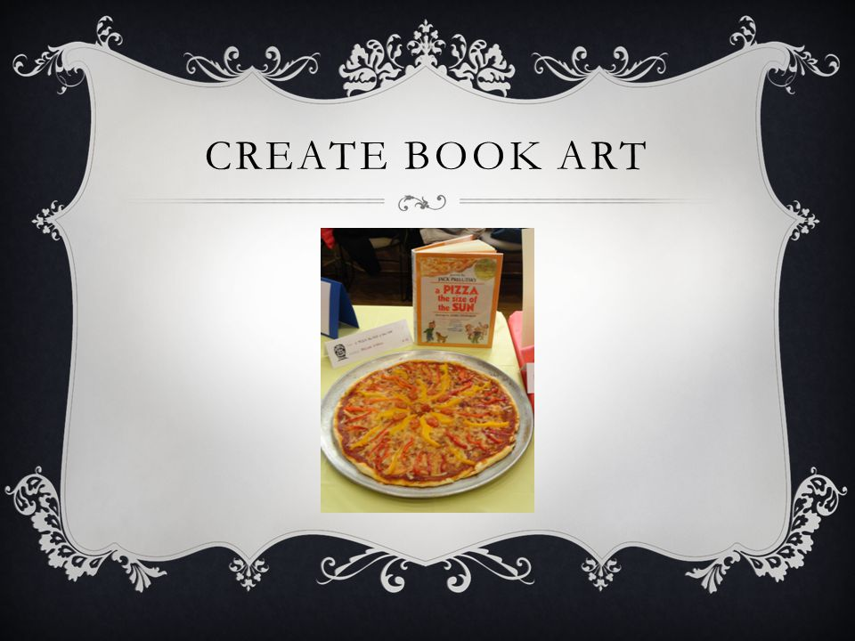 CREATE BOOK ART