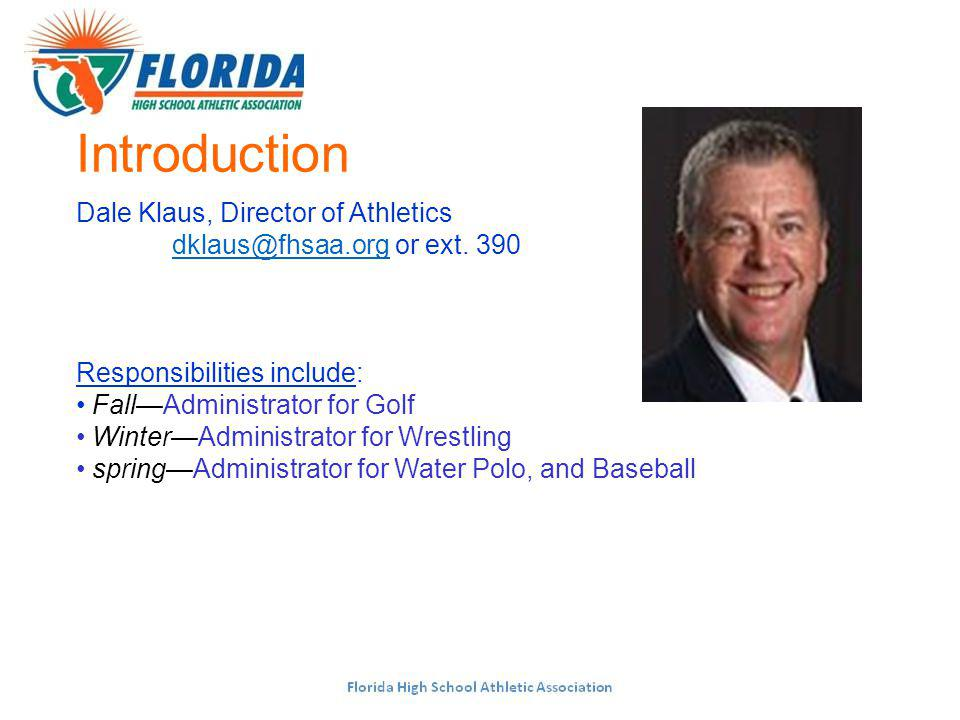 FHSAA Publications/Communications www.fhsaa.org – latest info, Classifieds, etc.