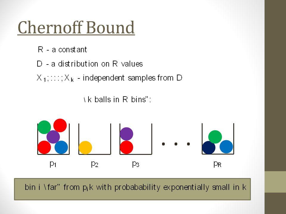 Chernoff Bound...