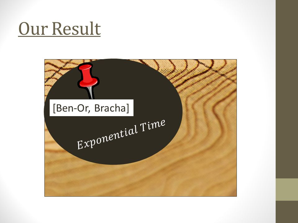 Our Result [Ben-Or, Bracha]