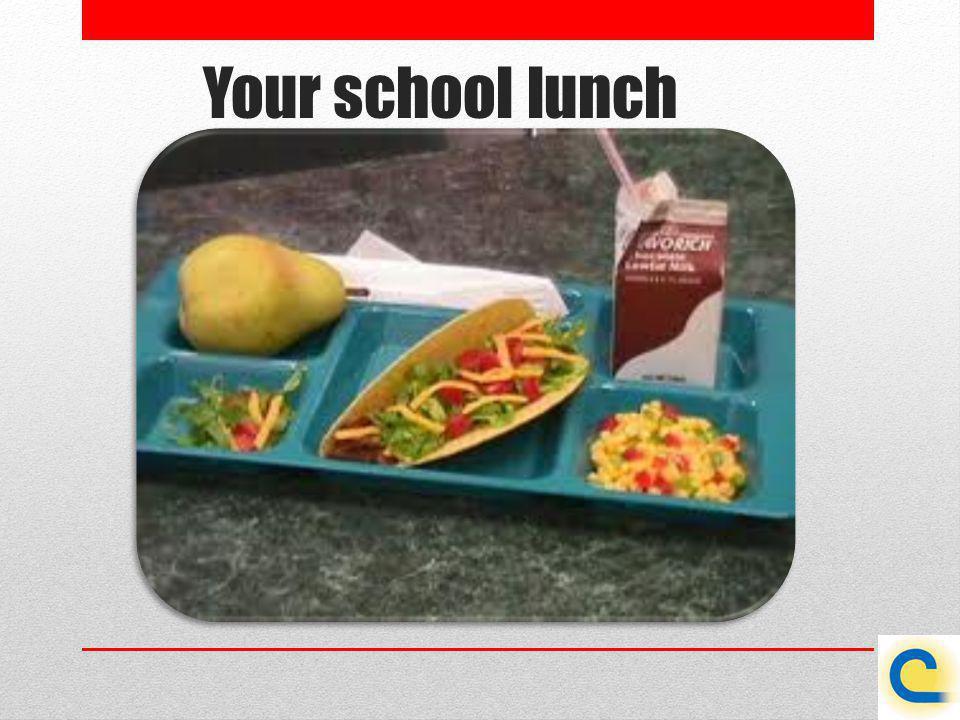 Your school lunch