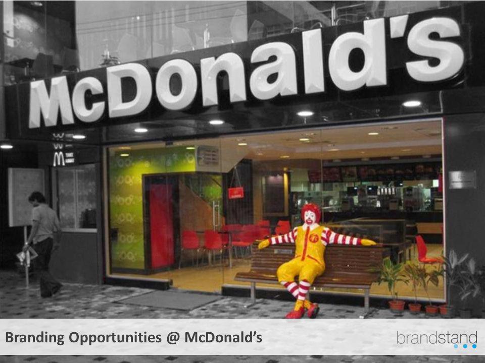 Branding Opportunities @ McDonalds