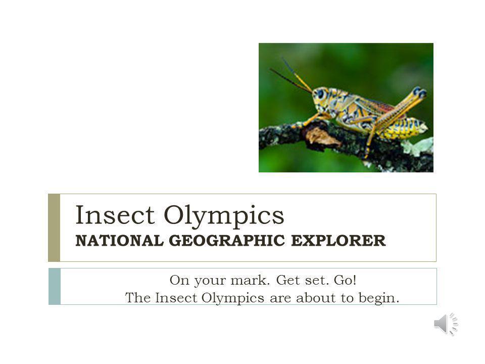 The grasshopper spits a brown liquid to keep predators away.