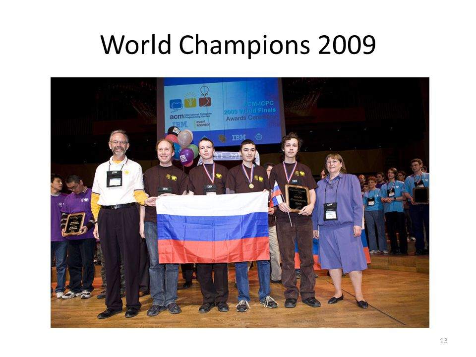 World Champions 2009 13