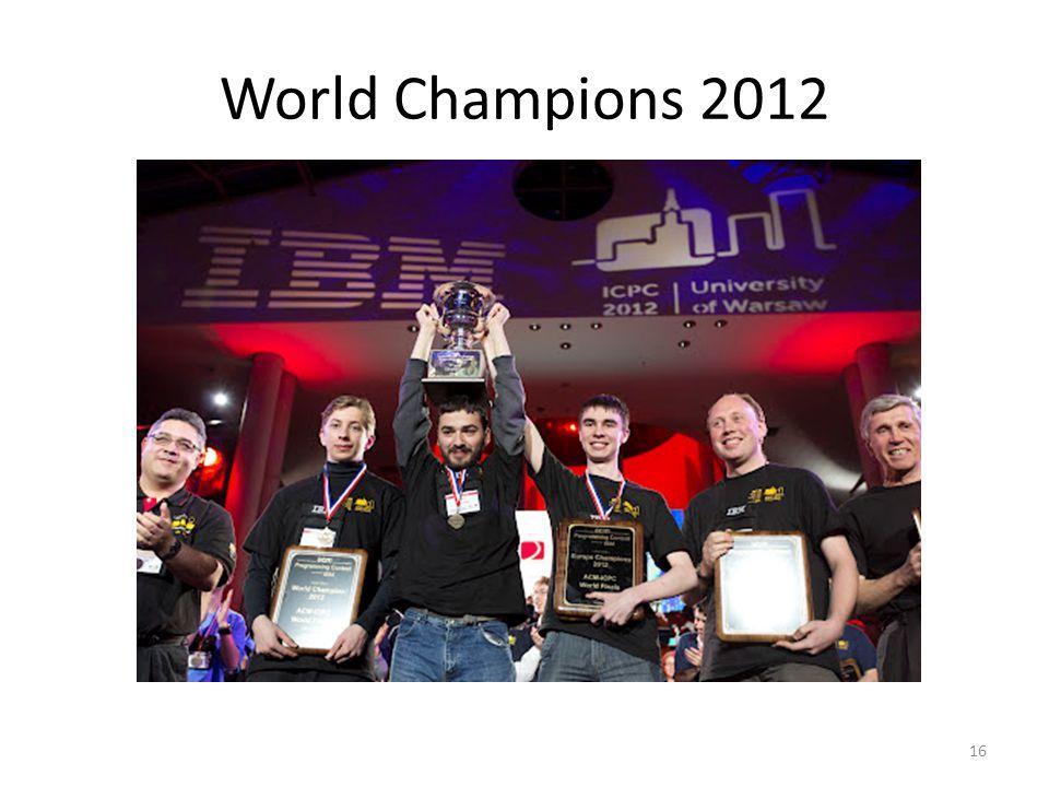 World Champions 2012 16